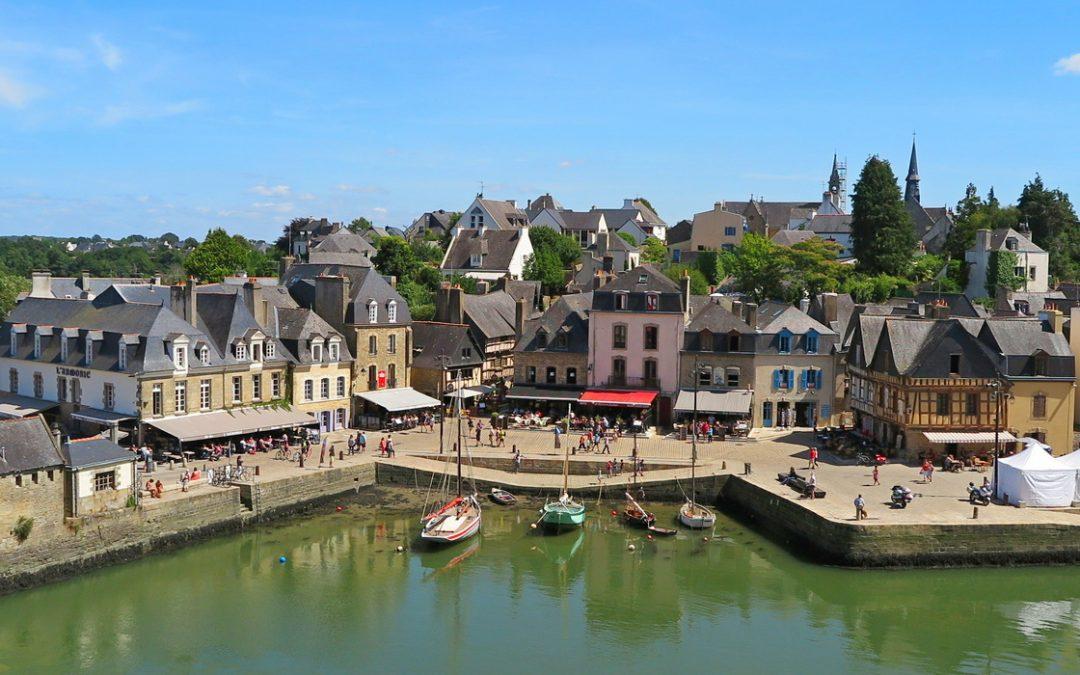 Le charmant port de Saint-Goustan